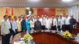 Đoàn cán bộ Ủy ban Kiểm tra của Đảng Nhân dân cách mạng Lào thăm và nghiên cứu thực tế tại Long An