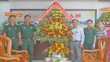 Nhiều cơ quan, đơn vị, tổ chức đến thăm và chúc mừng Báo Long An