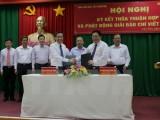 Ký hợp tác giữa Ban Chỉ đạo Tây Nam Bộ và Hội Nhà báo Việt Nam