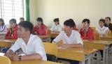 Long An: 183 thí sinh vắng làm thủ tục dự thi THPT quốc gia