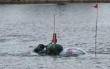 Chạy thử thành công tàu ngầm mini Hoàng Sa