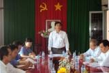 Ban pháp chế HĐND tỉnh giám sát tại Viện kiểm sát nhân dân huyện Tân Thạnh