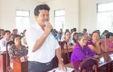 Đại biểu HĐND tỉnh Long An tiếp xúc cử tri tại Thủ Thừa, TP. Tân An