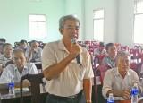 Cử tri Tân Thạnh kiến nghị: Tránh tình trạng câu móc điện băng qua kênh không an toàn