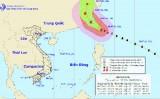 Siêu bão NEPARTAK trên vùng biển phía Đông Nam Đài Loan