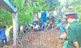Đội K73 tỉnh Long An tìm hài cốt liệt sĩ ở huyện Tân Thạnh
