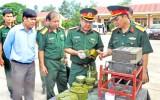 Kiểm tra công tác quân sự - quốc phòng
