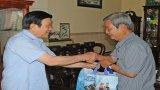 Nguyên Chủ tịch nước Trương Tấn Sang: Thăm các đồng chí nguyên lãnh đạo tỉnh Long An