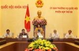 Thông báo Phiên họp thứ 50 của Ủy ban thường vụ quốc hội Khóa XIII