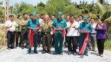Thủ Thừa - Long An: Khánh thành đường giao thông nông thôn
