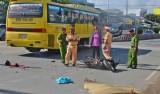Sóc Trăng: Ô tô tông xe mô tô, 3 người thương vong