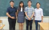 Bí quyết học tập của 4 học sinh tham dự Olympic Sinh học quốc tế 2016