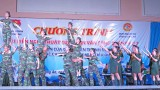 Long An – Quân khu 7: Biểu diễn văn nghệ tuyên truyền thực hiện chương trình mục tiêu quốc gia 2016