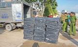 Đức Hòa: Phá vụ buôn lậu 48.000 bao thuốc lá