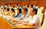 Đại biểu Quốc hội bỏ phiếu bầu Chủ tịch Quốc hội khóa mới