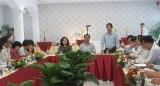 Cần Giuộc làm việc với Tập đoàn Vạn Thịnh Phát về thu hồi đất, hỗ trợ tái định cư
