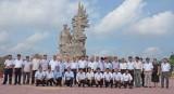 Lãnh đạo 2 huyện Yên Phong và Đức Hòa giao lưu, trao đổi kinh nghiệm