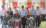 Long An: Thăm thương binh tại Trung tâm Điều dưỡng Thương binh và Người có công Long Đất