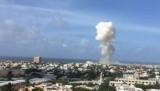 Nổ bom khủng bố như động đất tại sân bay Somalia