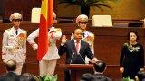 Thủ tướng dẫn lời Lê Thánh Tông, Nguyễn Trãi trong tuyên thệ nhậm chức