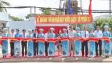 Cần Giuộc: Khánh thành nhà máy nước sạch tại xã Phước Lý