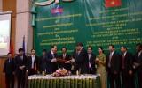 Việt Nam xây chợ biên giới kiểu mẫu tặng Campuchia