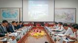 Long An làm việc với Tập đoàn Daewoo E&C Hàn Quốc