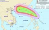 Cơn bão mới cách đảo Ludong 300km, gió giật cấp 11