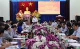 Thượng tướng Tô Lâm chỉ đạo công tác phát triển Tây Nguyên