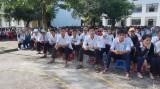 Đức Hòa: Tuyên truyền Luật PCCC trong học sinh