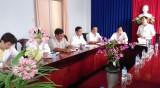 Long An: Phó Bí thư Thường trực Tỉnh ủy làm việc tại Tân Hưng