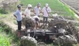 Vĩnh Long: Máy cày lao xuống ruộng, một người tử vong