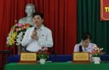 Cử tri huyện Châu Thành quan tâm đến việc tiêu thụ thanh long