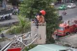 Bình Định: Cháy khách sạn tại Quy Nhơn, du khách chạy tán loạn