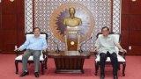 Văn phòng Tỉnh ủy Long An - Tây Ninh: Trao đổi, học tập kinh nghiệm