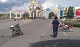 Va chạm xe tại dốc cầu Bảo Định, 1 người bị thương nặng