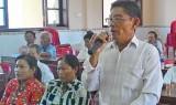 Cử tri Tân Thạnh kiến nghị xử lý triệt để vấn nạn tham nhũng