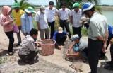 Tân Hưng - Long An kiểm tra nuôi thủy sản tại xã Thạnh Hưng
