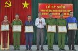 Phường 3, TP.Tân An được Bộ Công an tặng cờ thi đua xuất sắc