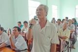Cử tri Tân Hưng: Tạo việc làm cho người dân sinh sống trên các cụm, tuyến dân cư
