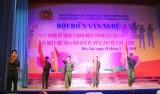 Bến Lức: Hội diễn văn nghệ chào mừng 71 năm Ngày thành lập CAND Việt Nam