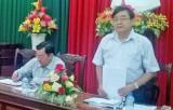Phó Bí thư Thường trực Tỉnh ủy Long An làm việc với huyện Vĩnh Hưng