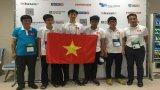Việt Nam dành hai huy chương vàng Olympic Tin học quốc tế