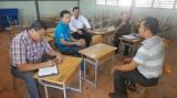 Khảo sát hỗ trợ xây dựng trường học tại Tân Trụ