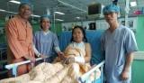 Mảnh mìn ghim vào tim bệnh nhân trong 45 năm