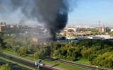Nổ lớn gây cháy kho hàng ở Mocow, Nga: 17 người thiệt mạng