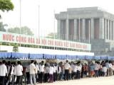 Từ 5/9 sẽ tạm ngừng tổ chức lễ viếng Chủ tịch Hồ Chí Minh