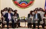 Việt Nam-Lào ký kết thỏa thuận hợp tác về công tác tổ chức Đảng