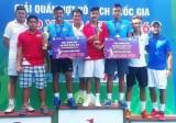 Lý Hoàng Nam giành cú đúp ở Giải quần vợt quốc gia 2016