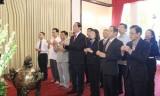 Chủ tịch nước Trần Đại Quang dâng hương tưởng nhớ Chủ tịch Hồ Chí Minh